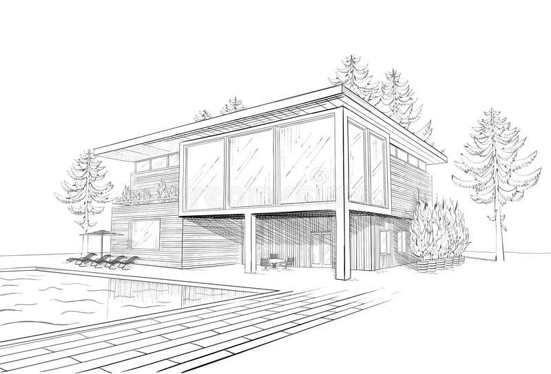 https://www.satinagarden.ro/wp-content/uploads/2018/03/vector-sketch-modern-house-swimmingpool-26613320.jpg